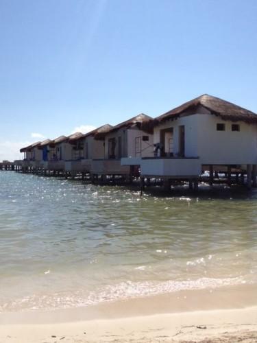 El Dorado Maroma Overwater Palafitos exterior view