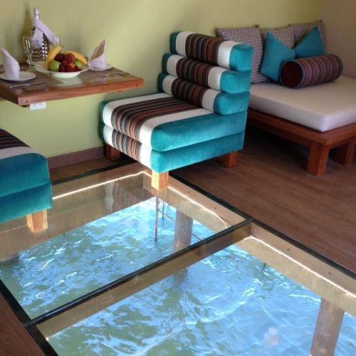 El Dorado Maroma Overwater Palafitos floor panels