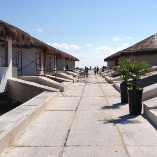 El Dorado Maroma Overwater Palafitos entrance walkway