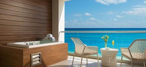 Breathless Riviera Cancun balcony