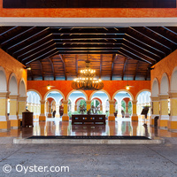 Iberostar Paraiso Beach entrance