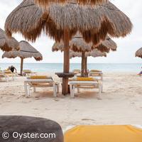 Iberostar Paraiso Maya beach loungers
