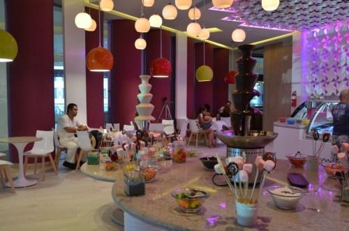 Hyatt Ziva Cancun dessert bar