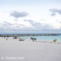 Krystal Grand Punta Cancun concrete pier