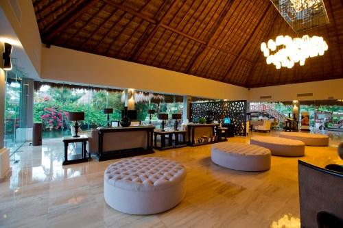 The Royal Suites Yucatan lobby