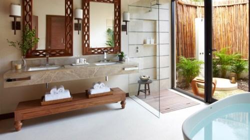 Viceroy Riviera Maya bathroom with soaker tub