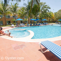 Viva Wyndham Maya adults-only pool