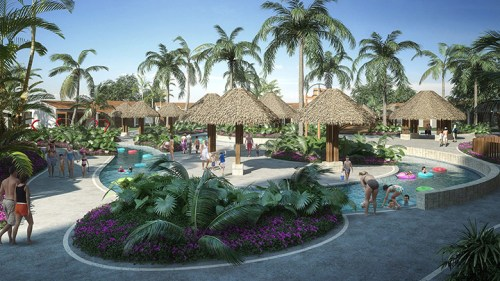 Dreams Playa Mujeres lazy river
