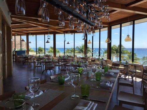 Catalonia Yucatan Beach new restaurant
