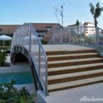 Dreams Playa Mujeres Lazy River lounger access