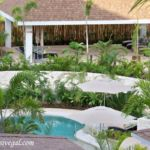 Dreams Playa Mujeres outdoor spa area