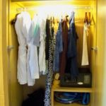 Dreams Playa Mujeres Jr. Suite closet