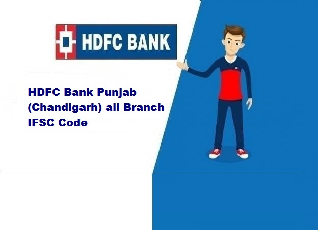 HDFC Bank Punjab (Chandigarh) all Branch IFSC Code