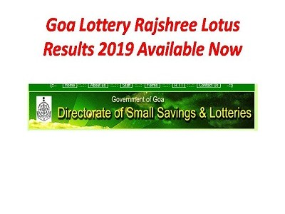 Goa Lottery Rajshree Mercury Results 07/09/2019 Sheet Today