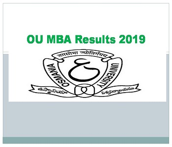 OU MBA Results osmania ac in Available On 07/09/2019 1st 2nd