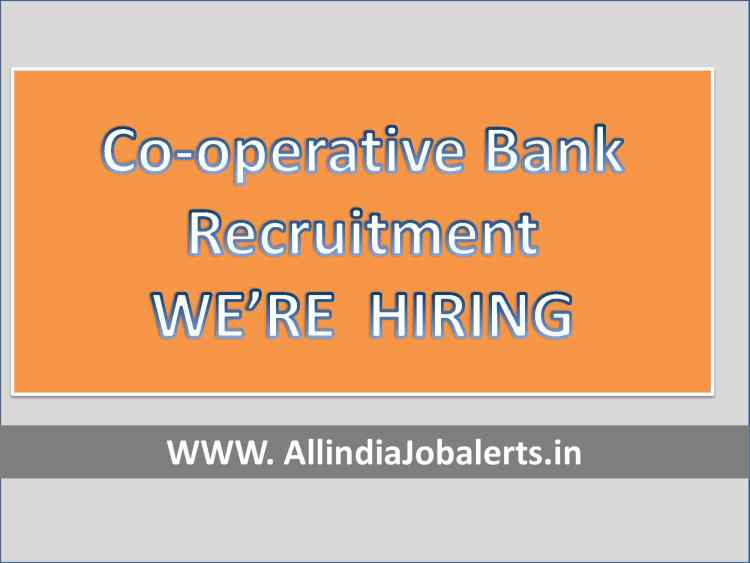 Cooperative Bank Recruitment