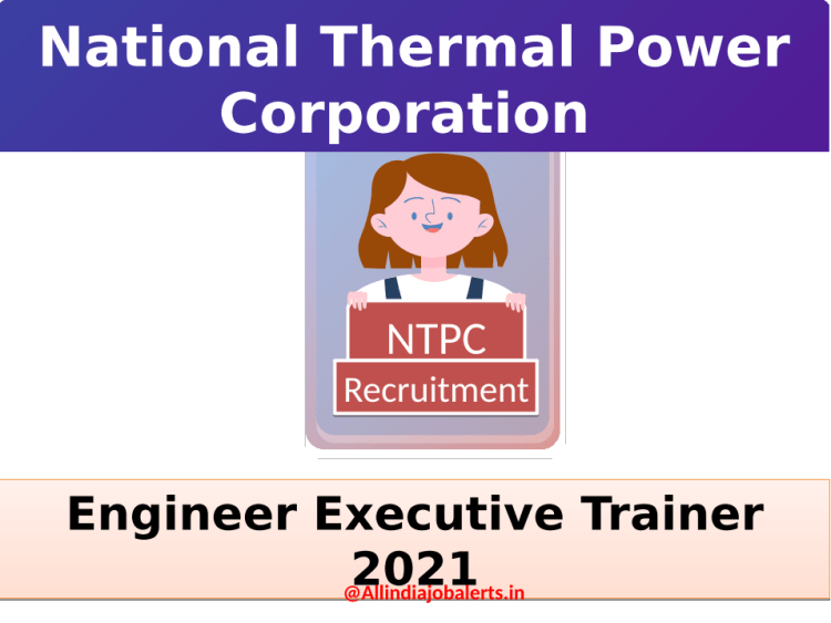 National Thermal Power Company Limited recruitment