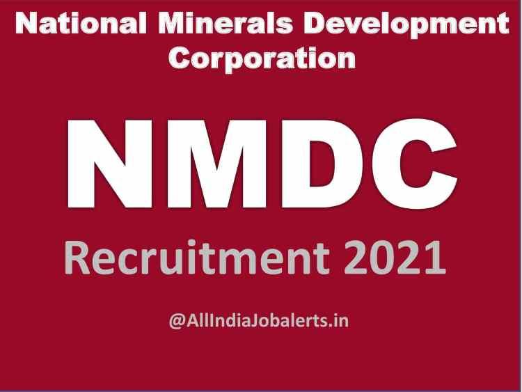 NMDC Recruitment Through Gate 2021