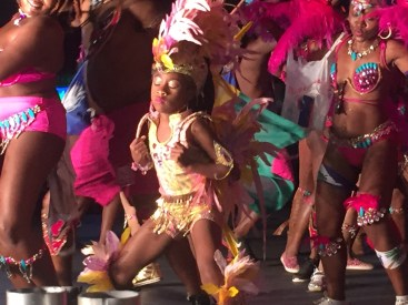 Young masquerader