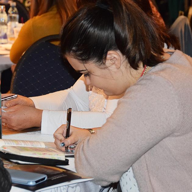 Romania Conference 2017 Woman Writing