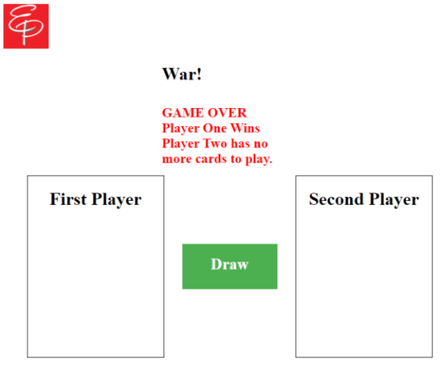 War game example
