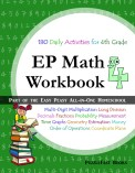 math 4 workbook cover