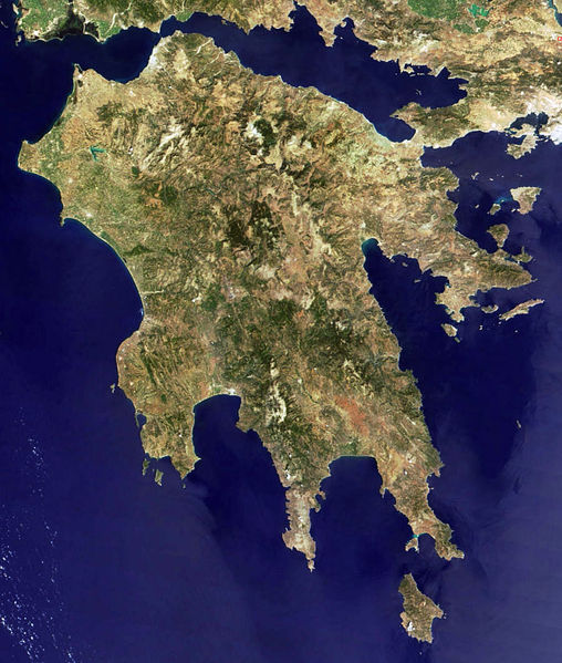isthmus at corinth