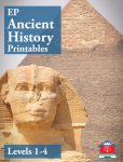 EP Ancient History Printables Levels 1 - 4