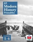 EP Modern History Printables Levels 1 through 4