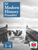 EP Modern History Printables Levels 1 through 4