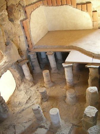 An Ancient Roman Hot Room