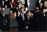 The First inauguration of Bill Clinton