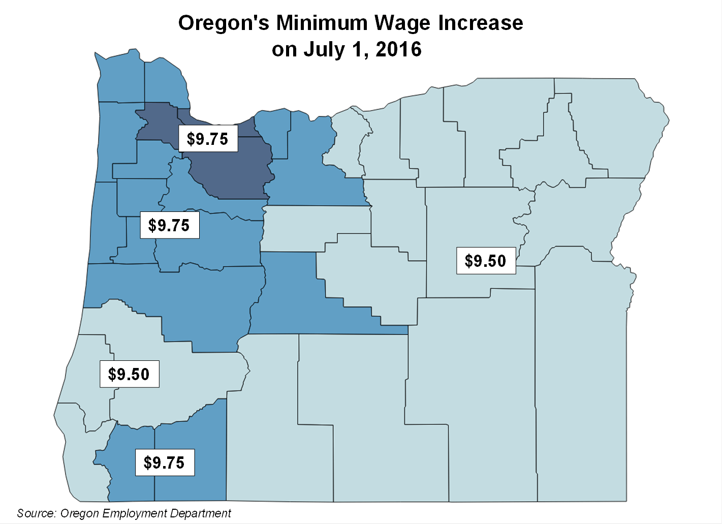 oregon boli announces minimum wage