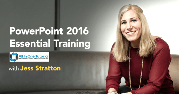 PowerPoint 2016 Essential Training Screenshot-AllInOneTutorial.com