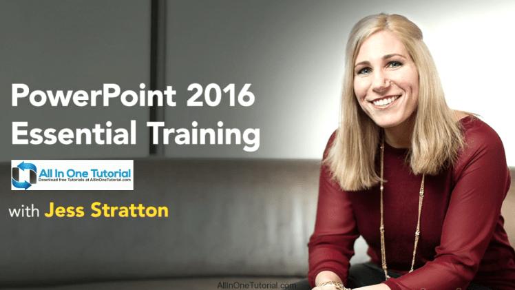 PowerPoint 2016 Essential Training (lynda) Free Download