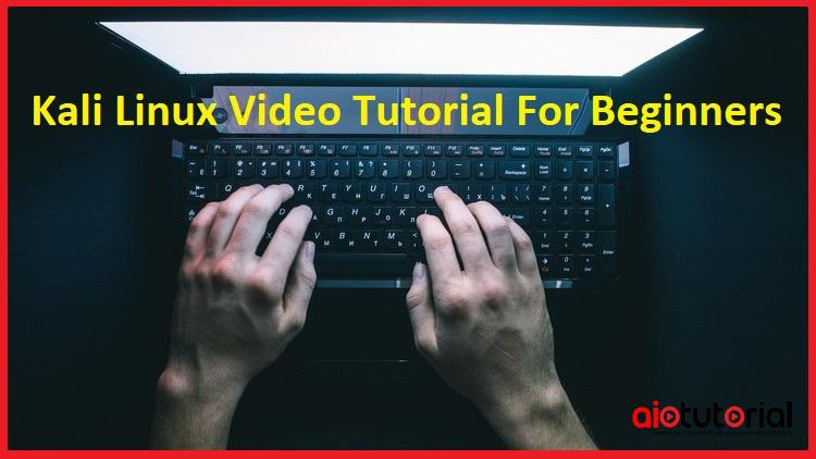 Kali Linux Video Tutorial For Beginners (Udemy)-Learn from the pros how to use Kali Linux easily and quickly.