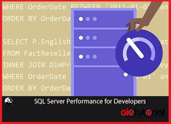 SQL Server Performance for Developers+Exercise Files (Lynda) Free Download
