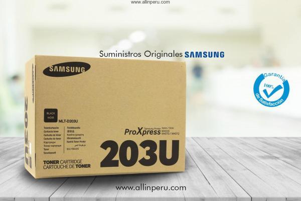 Cartucho de tóner Samsung MLT-D203U de extra alta capacidad negro