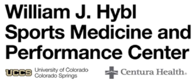 William J. Hybl Sports Medicine and Performance Center logo