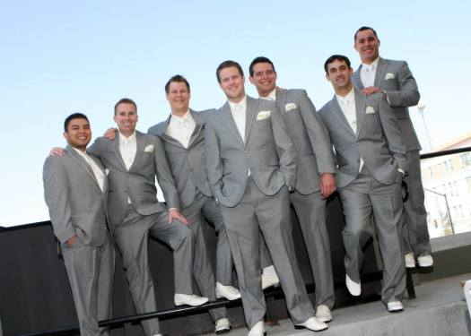 Brad and Groomsmen