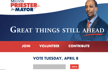 Melvin Priester's Website on March 11