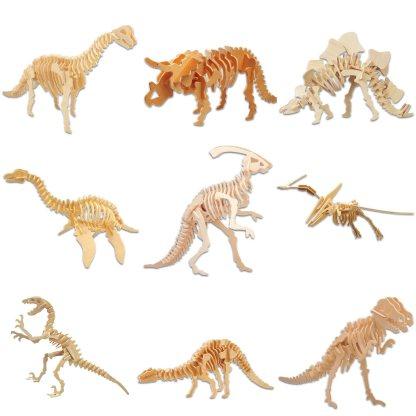Toutes nos maquettes dinosaures en bois
