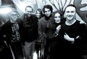 """Από αριστερά: στην παρέα μας προστίθεται ο συγγραφέας & αρχισυντάκτης-παραγωγός ραδιοφωνικής εκπομπής """"ΚΑ.ΛΛΙΠΟΛΙΣ"""", Γιώργος Αγγελίδης..."""