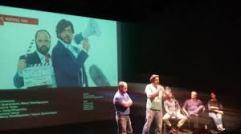 Στιγμιότυπο από την παρουσίαση της παράστασης