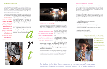 portfolio two irene art brochure