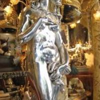 glass statue woman