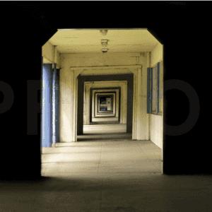 perspective looking down corridor phil photo