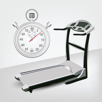 Fitness machine with Timer