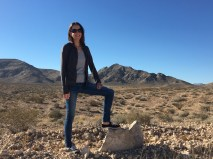 Just chillin' in the The Mojave Desert.