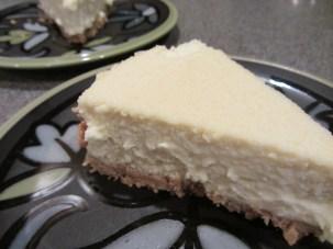 Alton Brown's cheesecake.